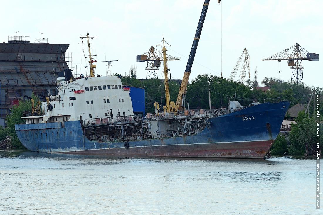 Морской танкер Нива