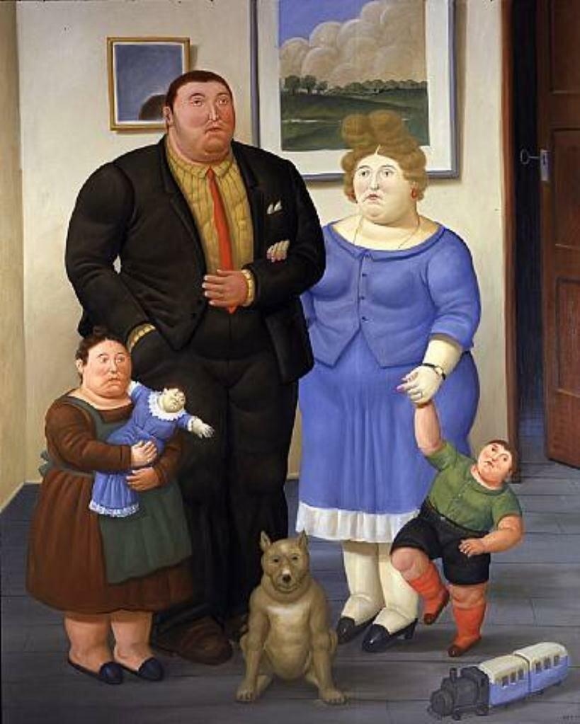 Семья,2006, Фернандо Ботеро