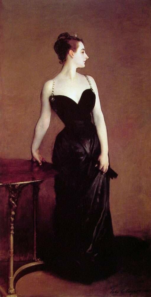 Сарджент,  Мадам Х   Madame X 1884
