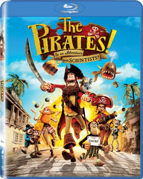 ������! ����� ����������� / The Pirates! Band of Misfits (2012/BDRip 720p/HDRip/1400Mb)