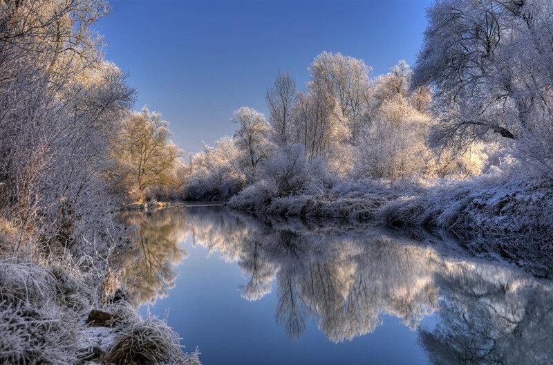 Зимняя сказка от Philippe Sainte-Laudy.