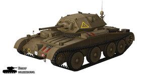 Шкурка для танка A13 Covenanter