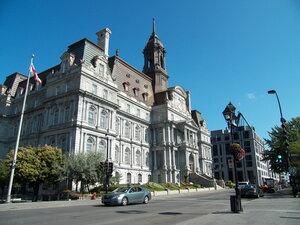 Мэрия Монреаля (Hôtel de Ville фр.)