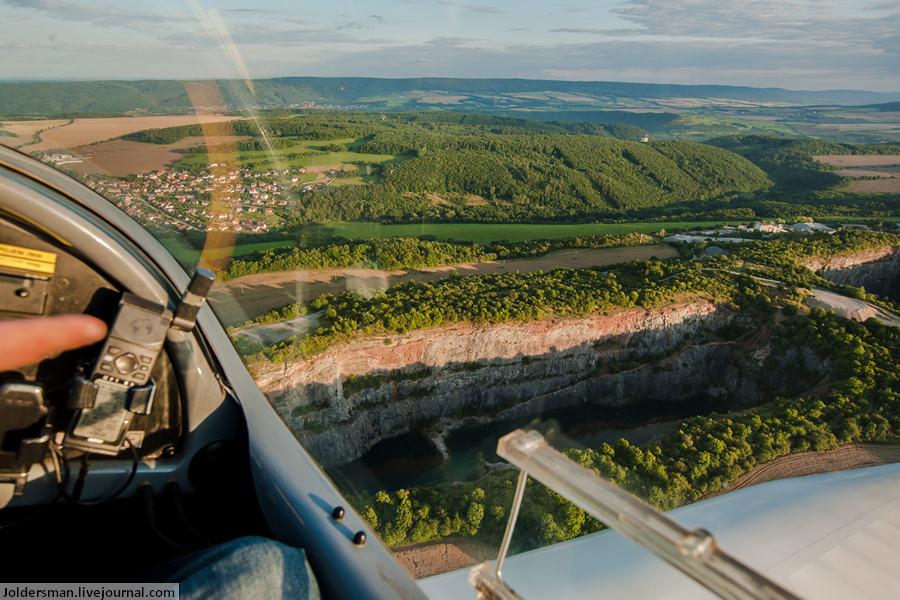 Отдых в Чехии- индивидуальная экскурсия над чешской Америкой на самолете