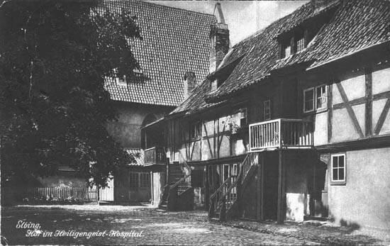Госпиталь св. духа в начале 20 века