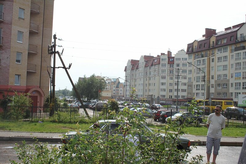 пробка на Московской