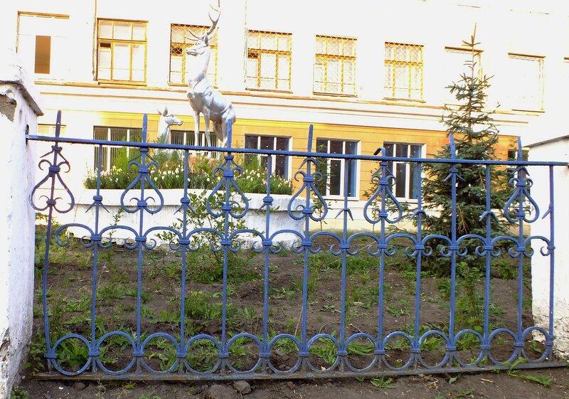 Оградка на улице куйбышева