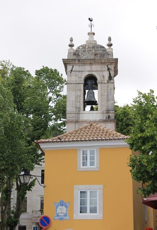 Синтра. Часовая башня. Rua Gil Vicente. Sintra. Clock Tower