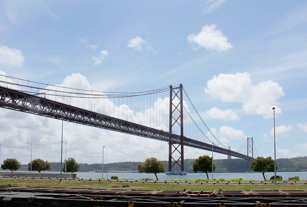 Lisbon, Bridge named after him. April 25