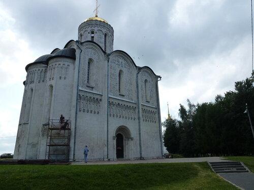 Древние храмы Владимира. Димитровский  собор