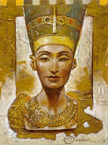 """таблица цветов. smorodina2410. схема.  0. оригинал.  Размеры: 143 x 190 крестов.  Картинки.  Автор схемы  """"Нефертити """" ."""