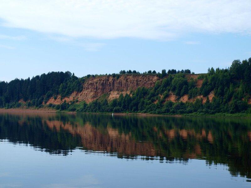 Соколья гора на реке Вятке