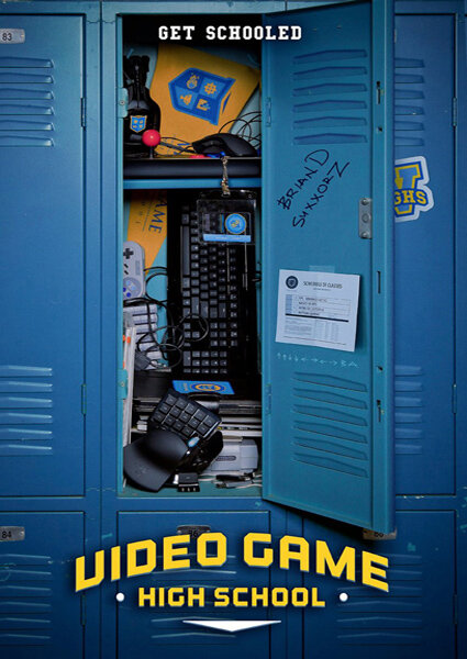Высшая школа видеоигр / Video Game High School / VGHS (1 сезон/2012-2013/HDRip)