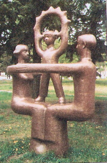 """""""Семья №2"""", парк Победы, 2000 г., фото из коллекции А.Смелого"""