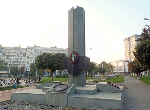 Памятник сотрудникам правоохранительных органов