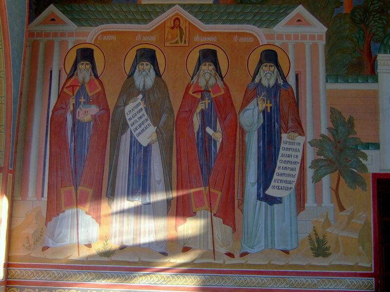 Мужской монастырь Оптина пустынь