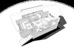 3d план, с расстановкой мебели. Mod 42-96