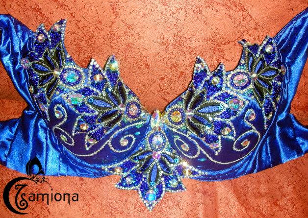 Синий костюм «