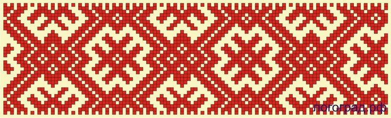 Удмуртская вышивка и орнамент 36