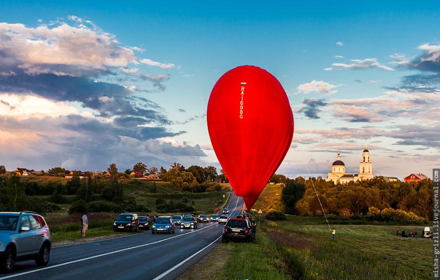 Фестиваль воздухоплавания в Хотьково