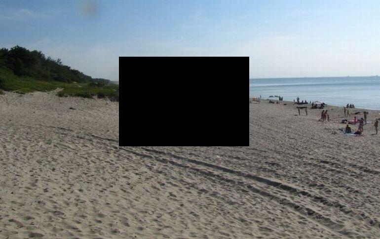 Неожиданно на пляже...
