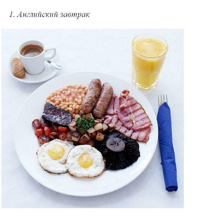 Традиционные завтраки со всего мира