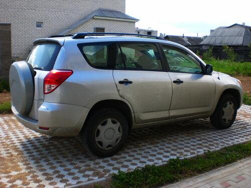 Парковка авто из Плитки ЭКО