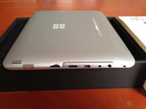 Порты планшета SmartQ Q8