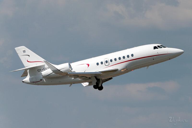 Dassault Falcon 2000LX (OY-CKH) Air Alsie DSC_2436