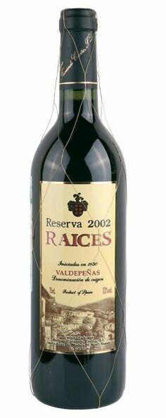 Raices Reserva 2002