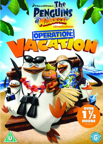 �������� �����������: �������� ������ / Penguins Of Madagascar: Operation Vacation (2012) DVDRip
