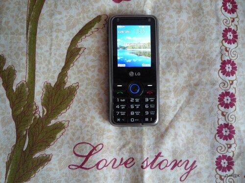 LG GX-200 (вид спереди)