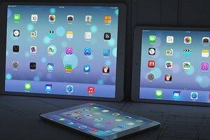 В ноябре в продаже появится 12,9-дюймовый iPad