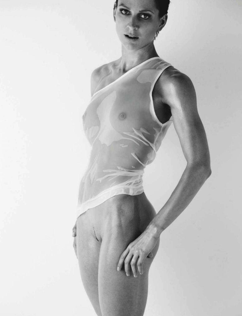 Участница Олимпиады, немецкая спортсменка Кристин Стоер (Christin Steuer) в журнале Playboy Germany, август 2012