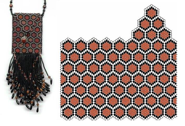 Приложение 8 плетение на леске: сумочки для телефона сумочки.