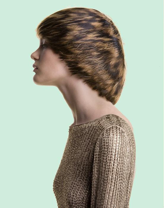 прическа шапочкой - каталог стрижек и причесок 2013 года.