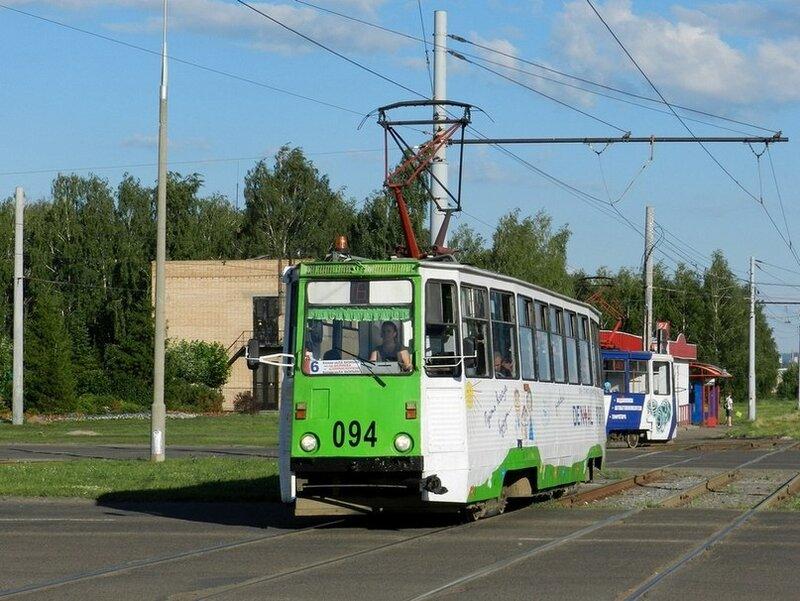 Набережные Челны, трамвайный вагон 094.
