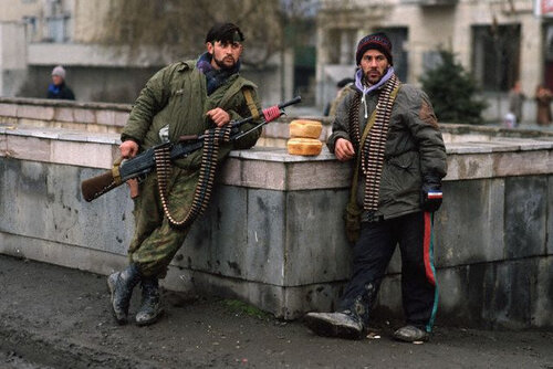 Heavily-Armed Chechen Rebels