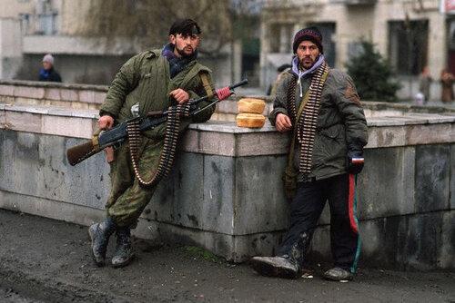 Heavily-Armed Chechen Rebels
