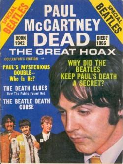 Семь доказательство того, что Пол Маккартни уже мертв