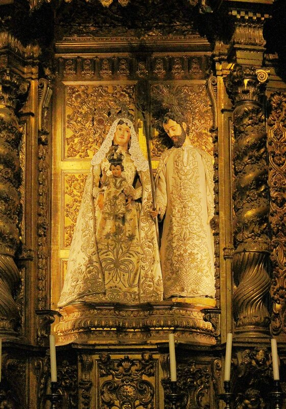 Интерьеры церкви монастыря Жеронимуш