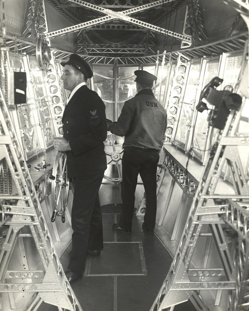 Emergency Control Station of a Dirigible