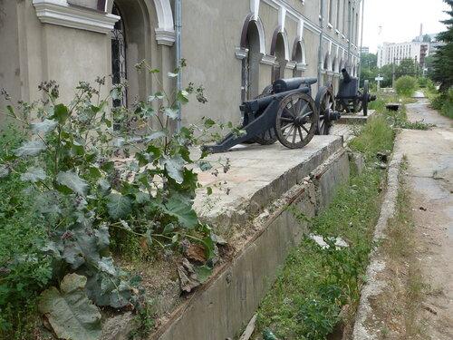 Здание завода где ковалось русское оружие в Златоусте