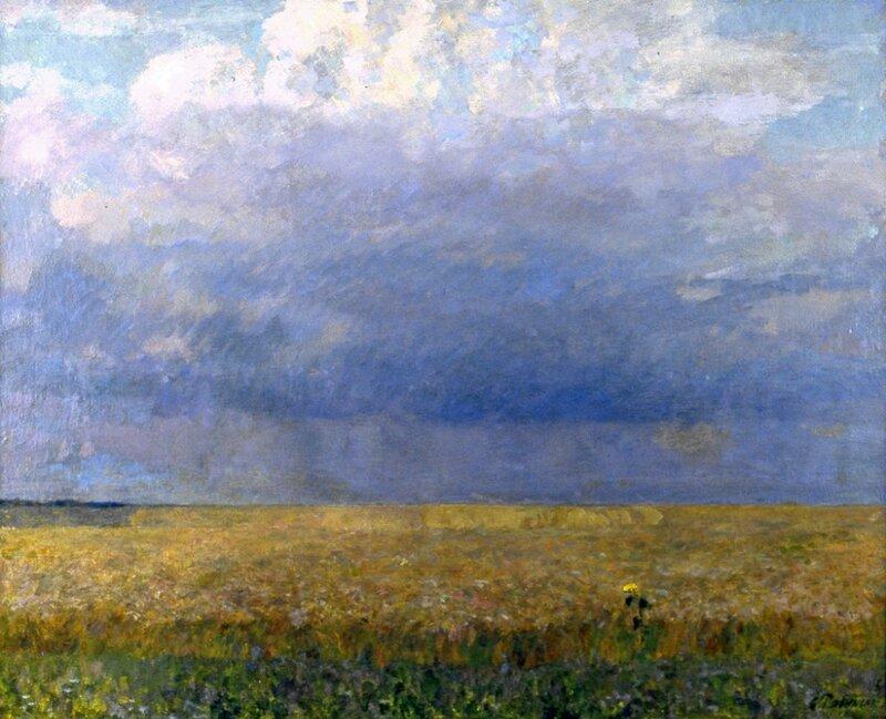 Е.В. Рябинский. Перед грозой. 1997