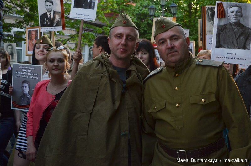 Бессмертный полк, Саратов, 08 мая 2015 года