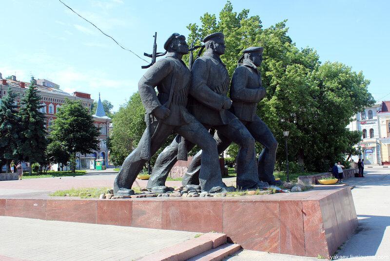 памятники вов йошкар ола