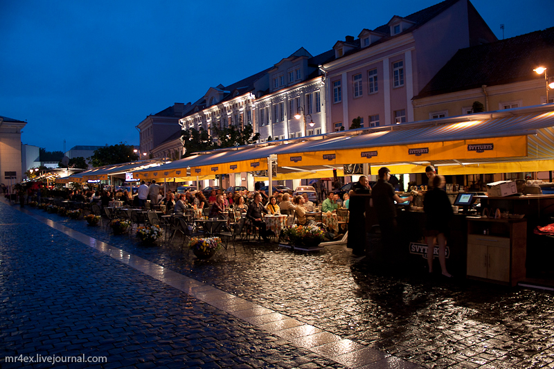 Вильнюс, Старый город, Ратушная площадь