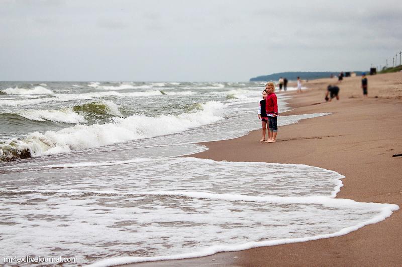Клайпеда, пляж