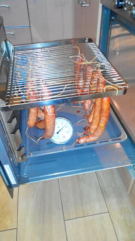 Домашняя колбаса из говядины и индюшки