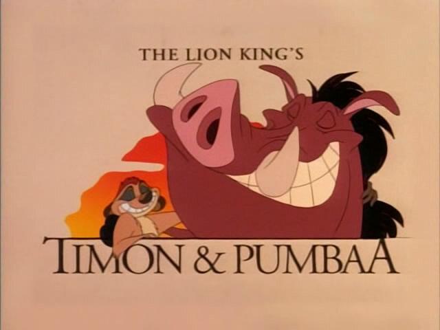 Приключения Тимона и Пумбы - Timon and Pumbaa (1 - 8 сезон) 1995-1998